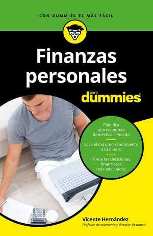 portada del libro finanzas personales para dummies