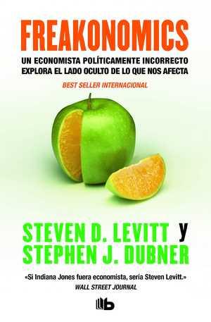 portada del libro freakonomics