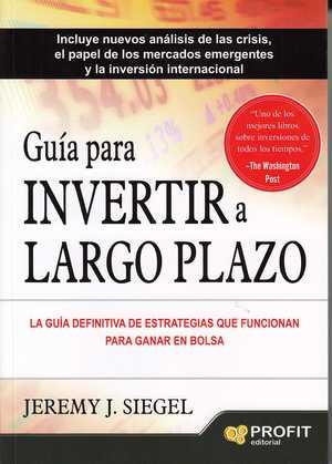 portada del libro guía para invertir a largo plazo