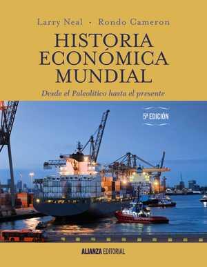 portada del libro historia económica mundial