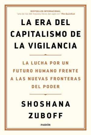 portada del libro la era del capitalismo de la vigilancia