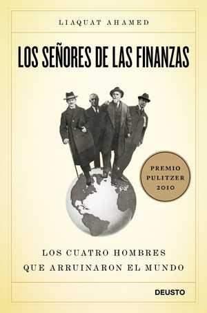 portada del libro los señores de las finanzas
