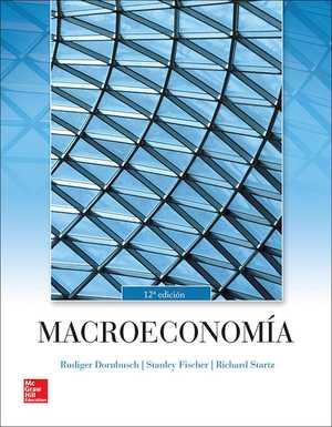 portada del libro macroeconomía de Rudi Ger dornbusch
