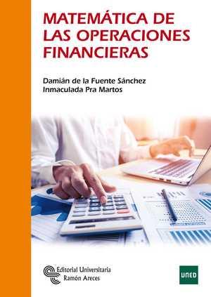 portada del libro matemáticas de las operaciones financieras