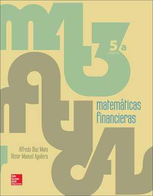 portada del libro matemáticas financieras