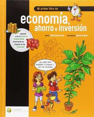 portada del libro mi primer libro de economía ahorro e inversión