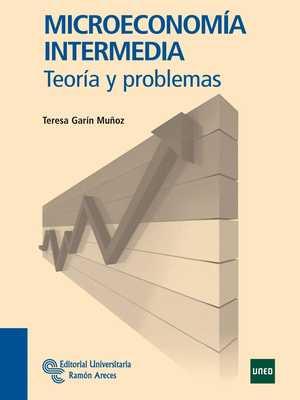 portada del libro microeconomía intermedia teoría y problemas