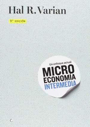 portada del libro microeconomía intermedia