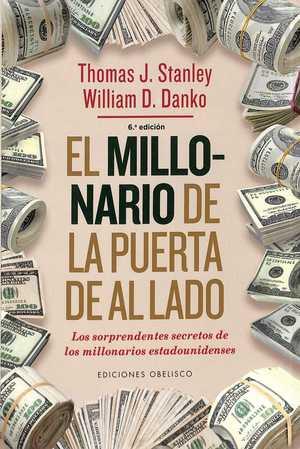 portada del libro millonario de la puerta de al lado