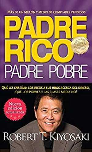 portada del libro padre rico padre pobre