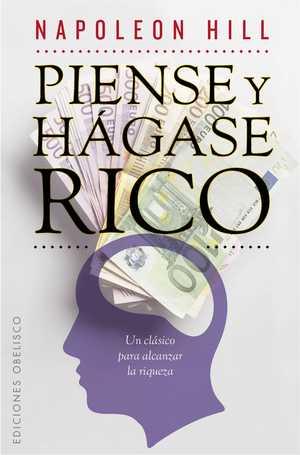 portada del libro piense y hágase rico
