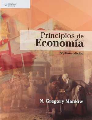 portada del libro principios de economía