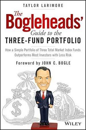 portada del libro the bogleheads′ guide to the three–fund portfolio